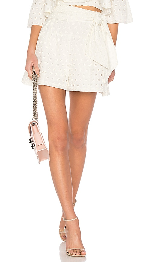 Paper London Plage Antigua Short in Cream