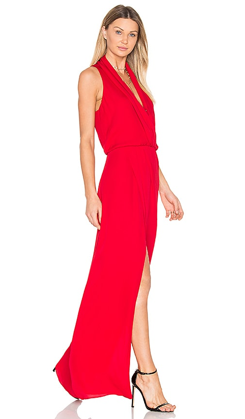 Parker Black Lagos Dress in Red