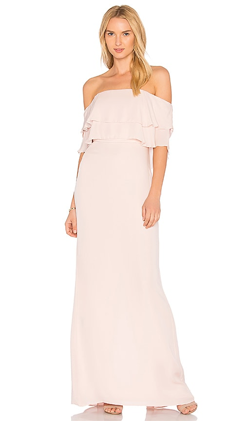 Parker Black Helen Dress in Pink