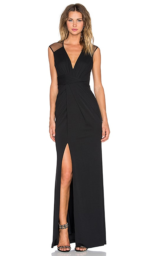 Parker Black Aaron Dress in Black