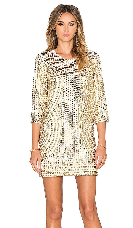 93d6cc8f36ab Parker Black Petra Dress in Gold | REVOLVE