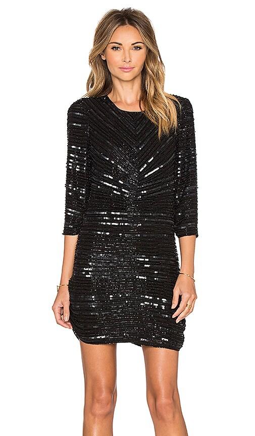 Parker Black Petra Dress in Black