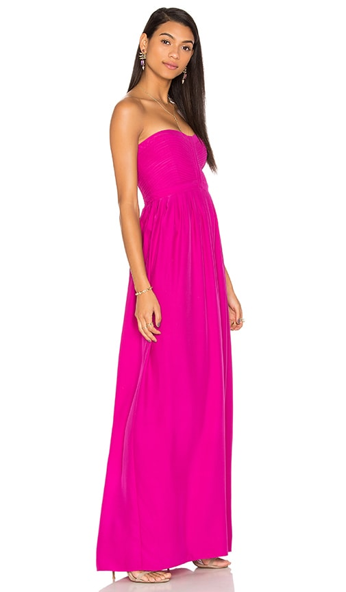Parker Black Bayou Dress in Fuchsia