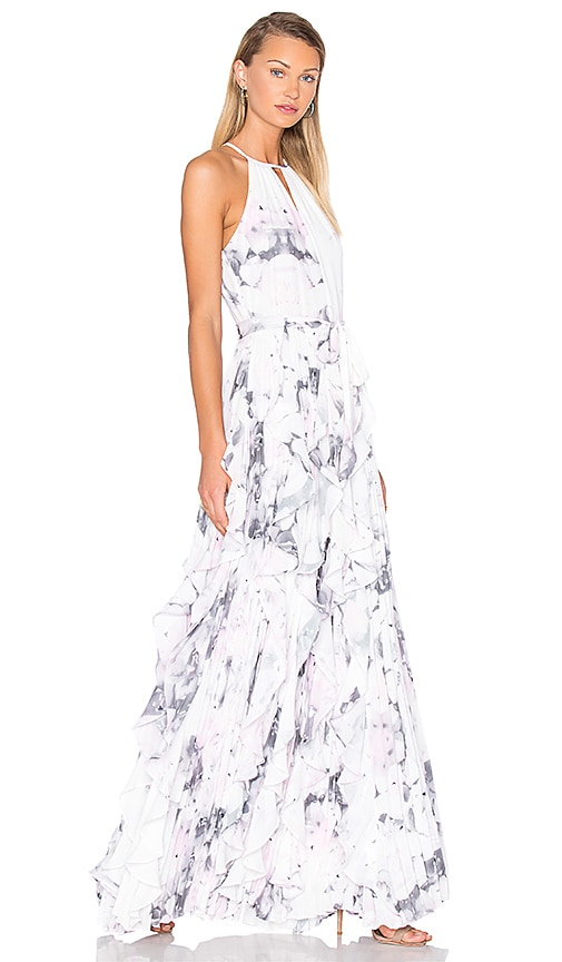 Parker Black Liza Maxi Dress in Lavender Lily