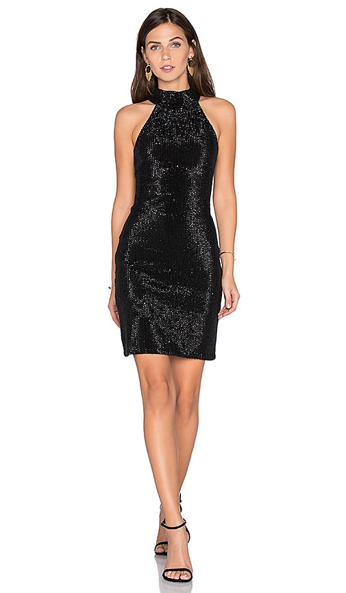 Parker Black Nicolette Dress in Black
