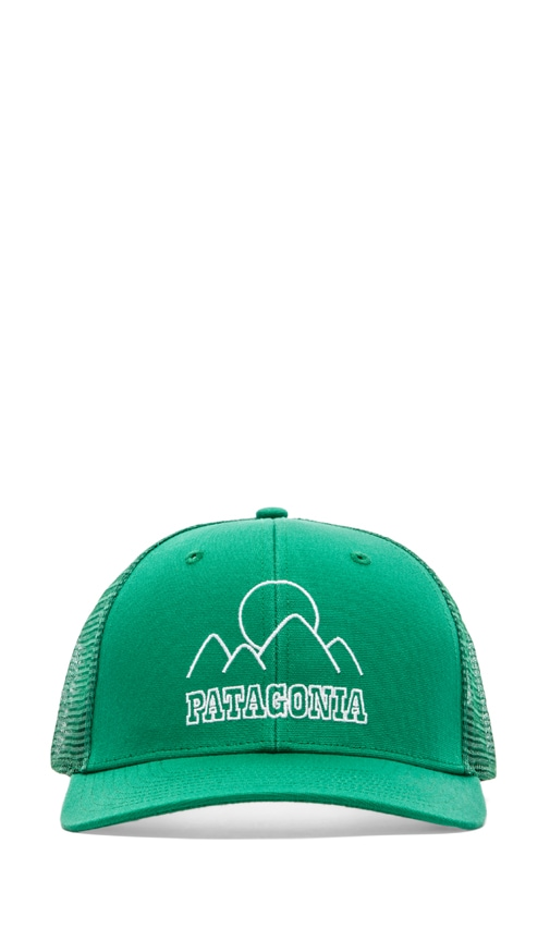 Patagonia Trucker Hat in Moutain Sea   Tumble Green  4d21182d3a1