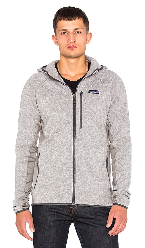 Patagonia Performance Better Sweater Hoody in Gray