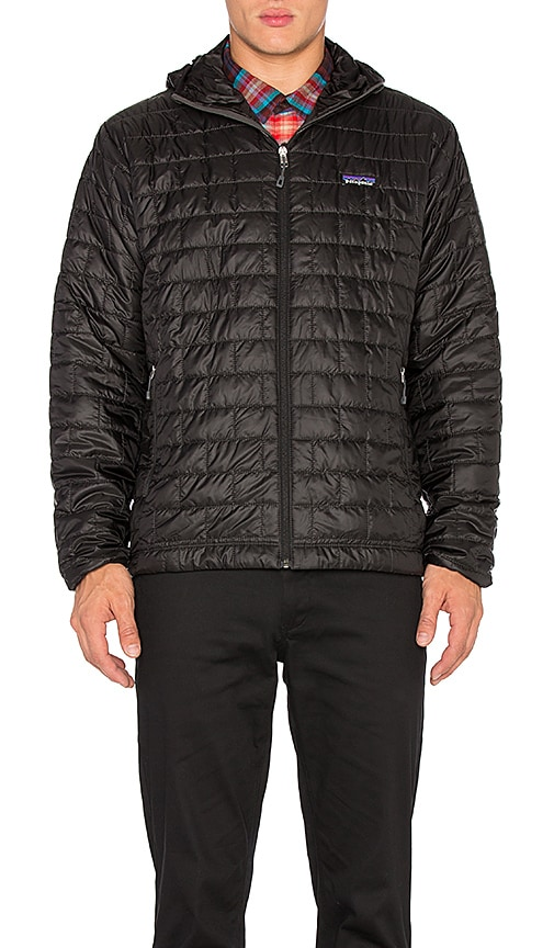 Patagonia Nano Puff Hoody in Black