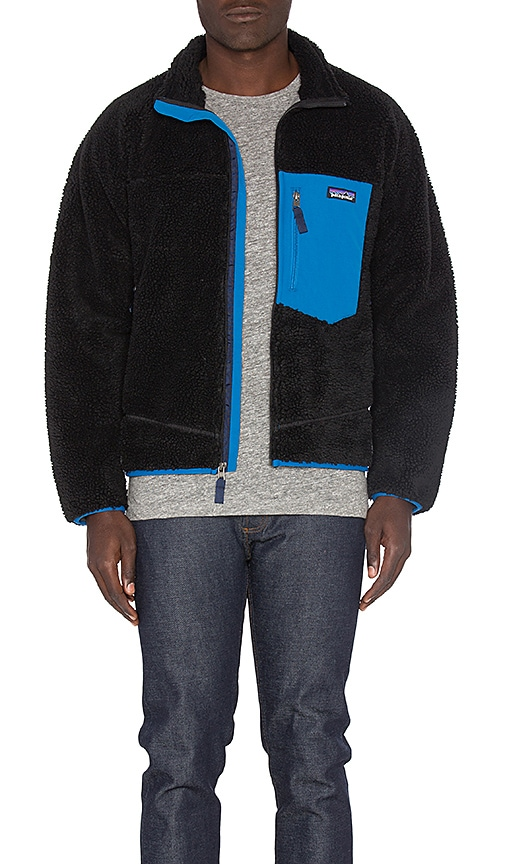 Patagonia Classic Retro-X Jacket in Black