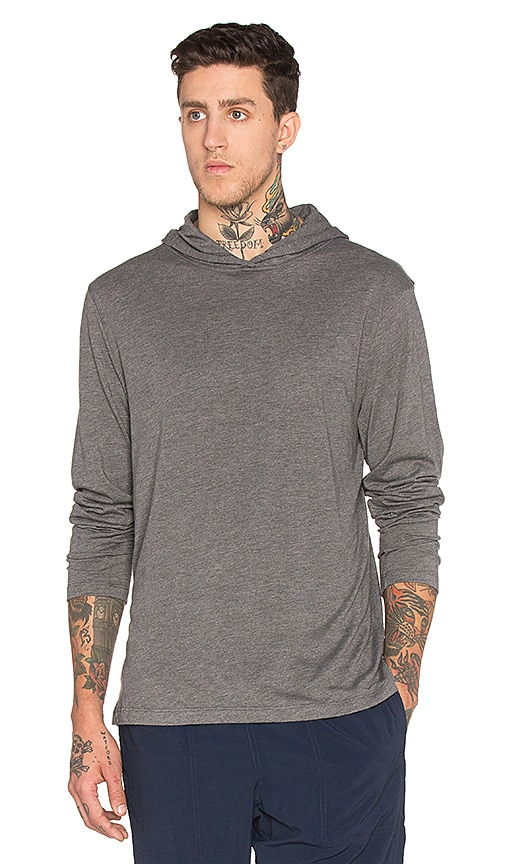 Patagonia Daily Tri-Blend Hoody in Forge Grey