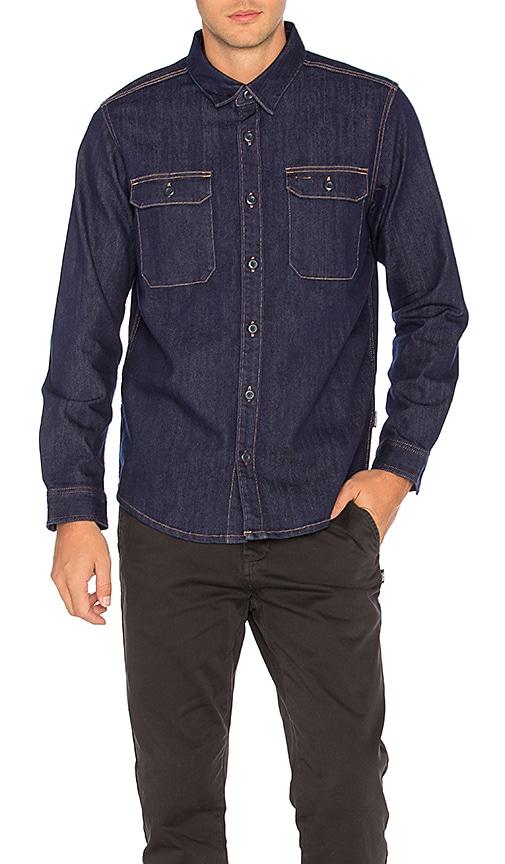 Patagonia Workwear Shirt in Dark Denim