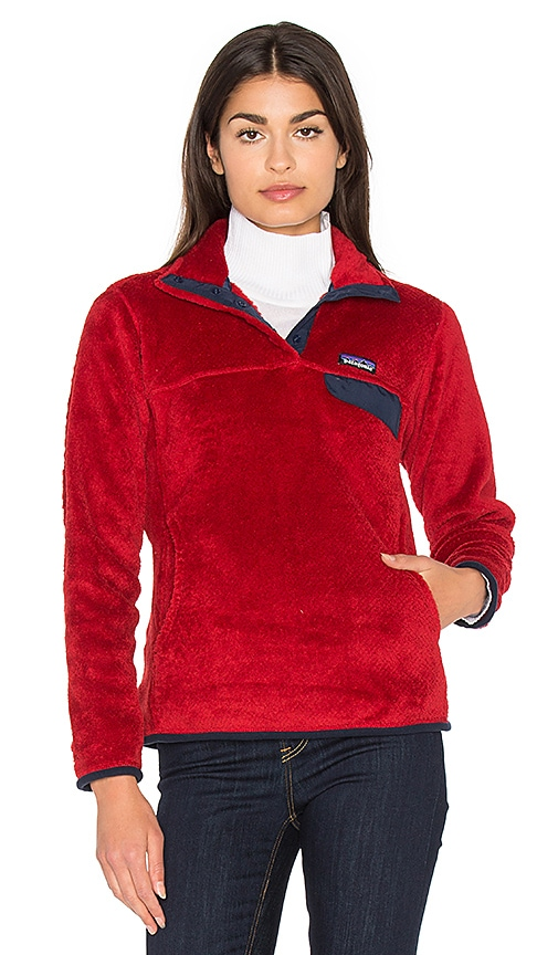 Patagonia Re-Tool Snap-T Pullover in Red