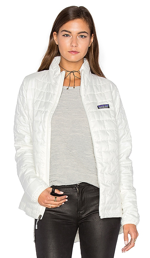 Patagonia Nano Puff Jacket in White