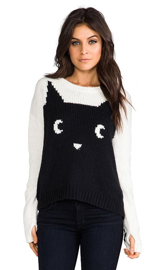 Meow Pullover Sweater