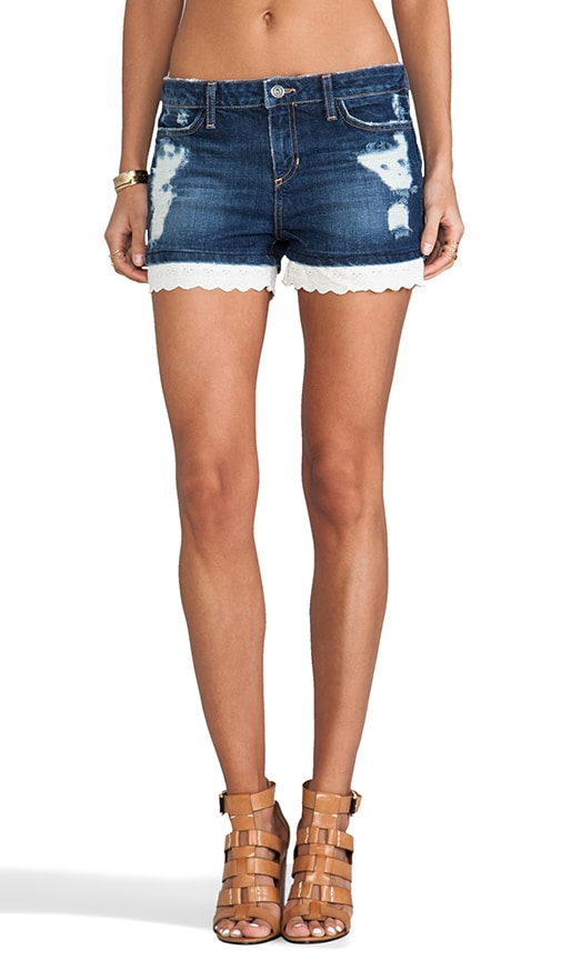 Patterson J. Kincaid Eyelet Denim Short