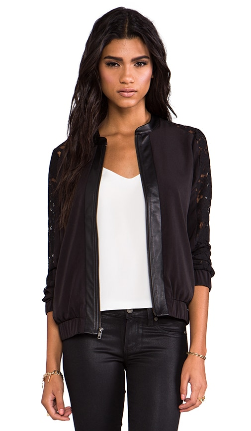 Leather and Lace Gretta Jacket