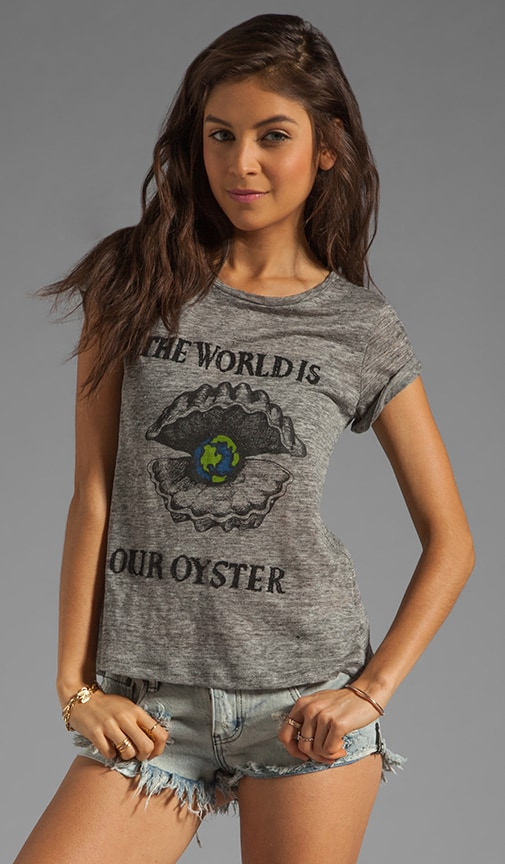 x the man repeller Mc Neal World is Our Oyster Tee