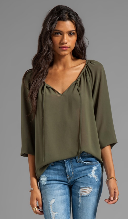 Patterson J. Kincaid Sofia Blouse