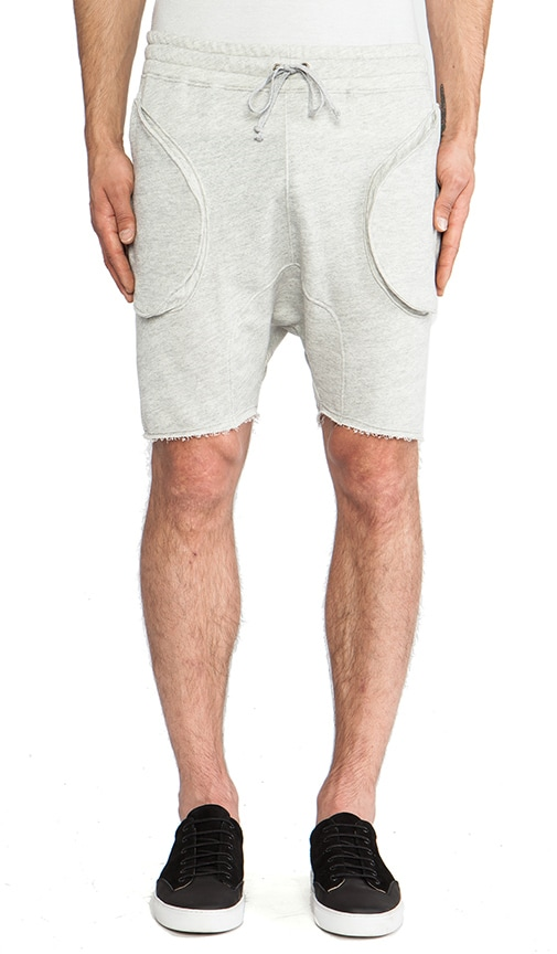 Drop Crotch Sweatshort