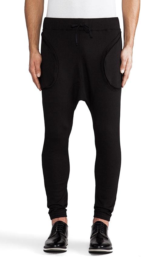 Fleece Drop Crotch Trainers