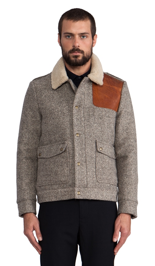Oakridge Jacket w/ Faux Shearling