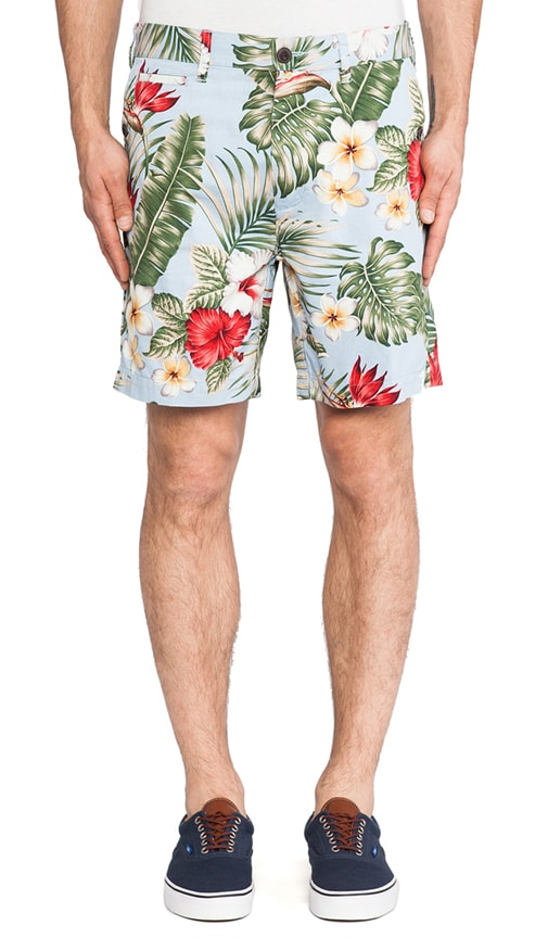 Gill Palm Print 5 Pocket Short