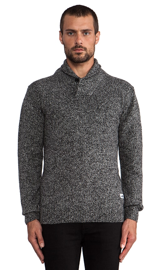 Bayfield Shawl Collar Melange Jumper