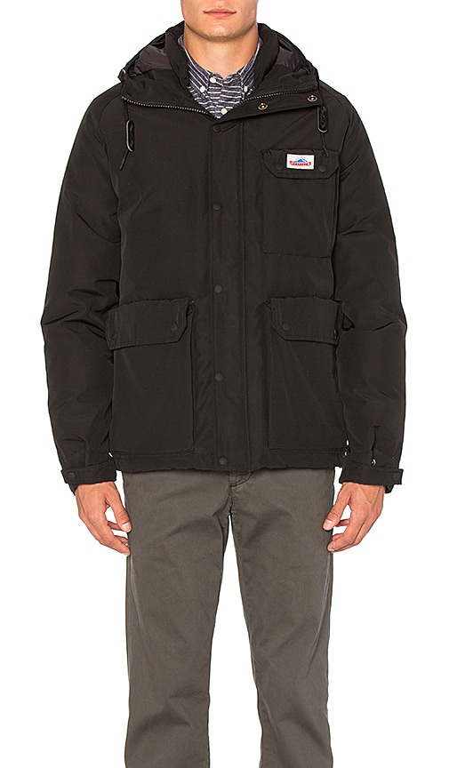 Penfield Apex Down Insulated Parka in Black