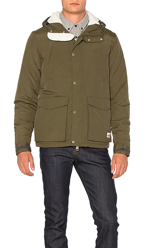 Penfield Hosston Insulated Parka in Green From China For Sale koL71
