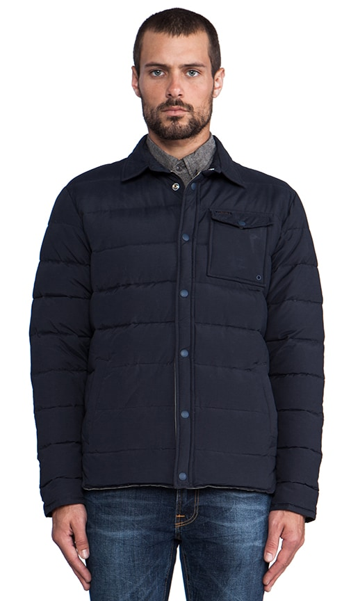 Eska Down Shirt Jacket