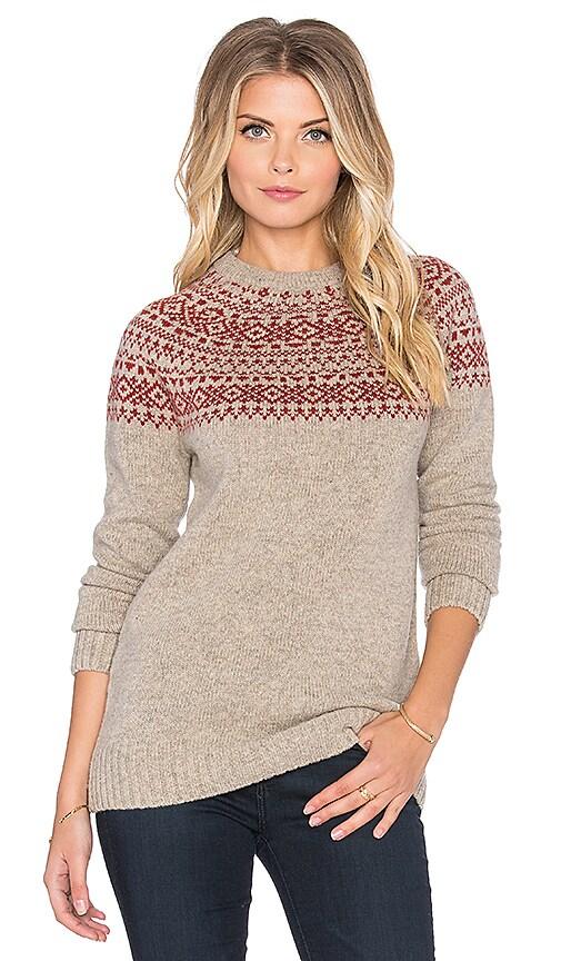 Penfield Freeman Sweater in Oatmeal