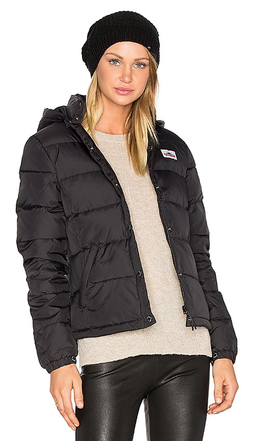 Penfield Millis Down Insulated Jacket in Black