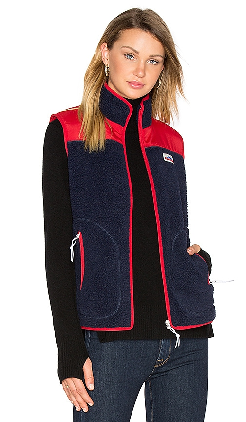 Penfield Mattawa Vest in Navy