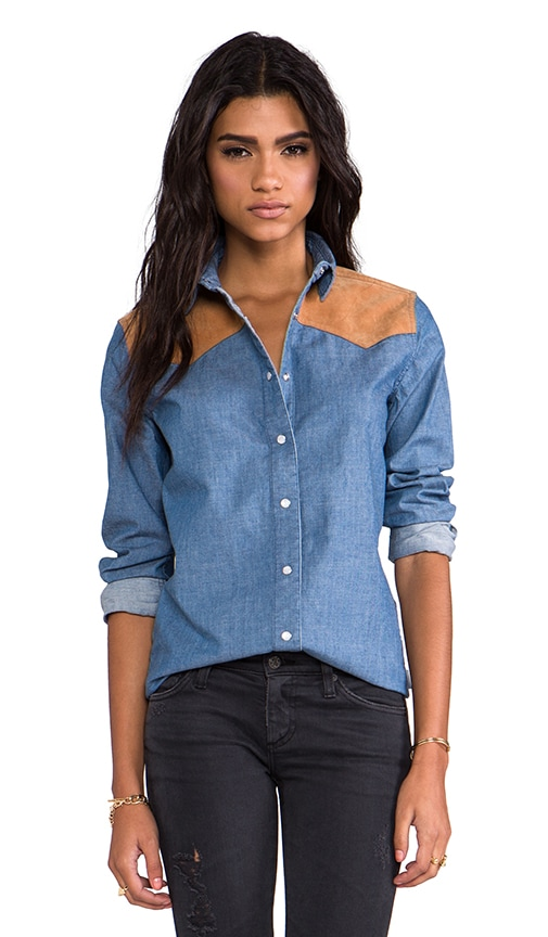 Drayton Denim Western Shirt