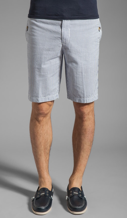 Striped Margate Fit Short