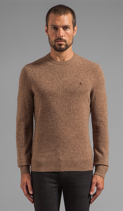 Pullover w/ Elbow Patches
