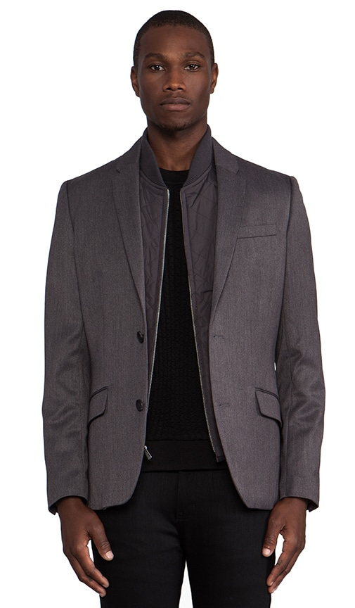 Blazer w/ Detachable Vest