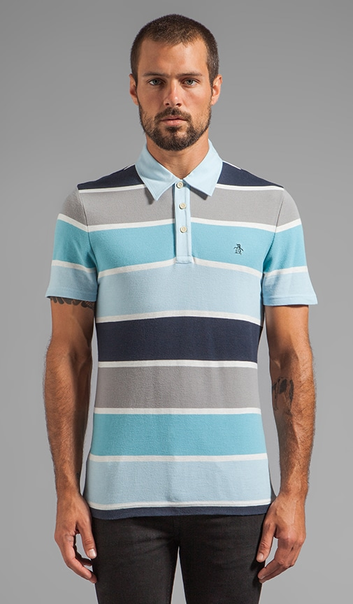 Heritage Fit Stripe Polo