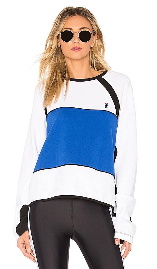 P.E Nation Diffuser Sweatshirt in Blue