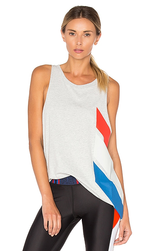 P.E Nation Flight Phase Tank in Colorblock
