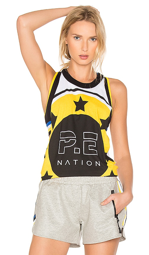 P.E Nation Mad Dog Tank in White