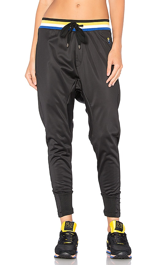 P.E Nation Strike Out Sweatpant in Black