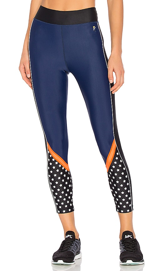 P.E Nation Down The Wire Legging in Navy