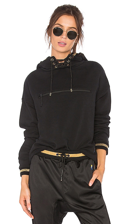 P.E Nation Blind Pass Hoodie in Black
