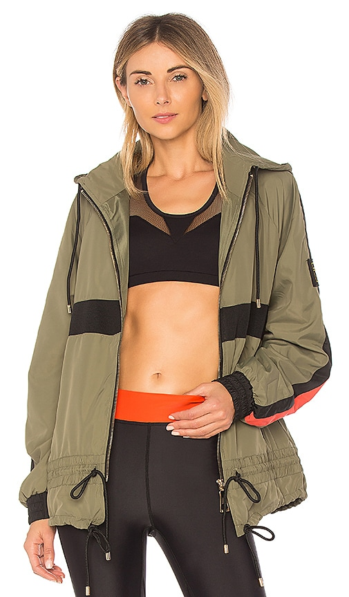P.E Nation Man Down Jacket in Olive