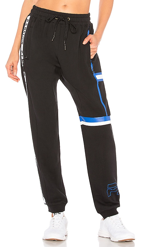 P.E Nation The Rookie Trackpant in Black
