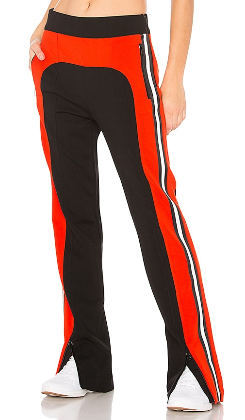 P.E Nation Flash Hit Trackpant in Black