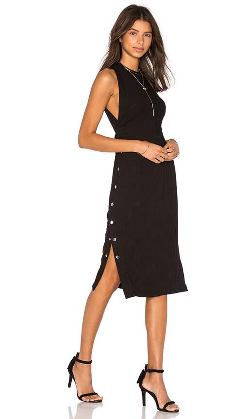 PFEIFFER Erikson Studded Dress in Black