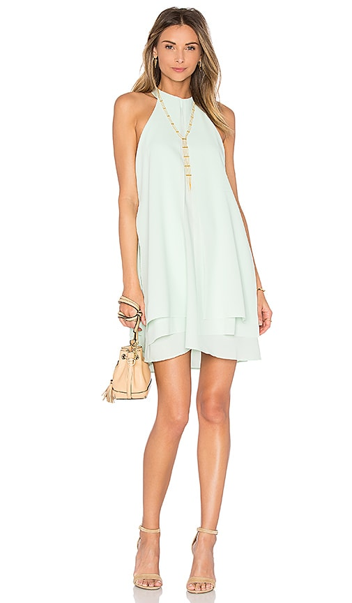 PFEIFFER Rapture Layered Dress in Mint
