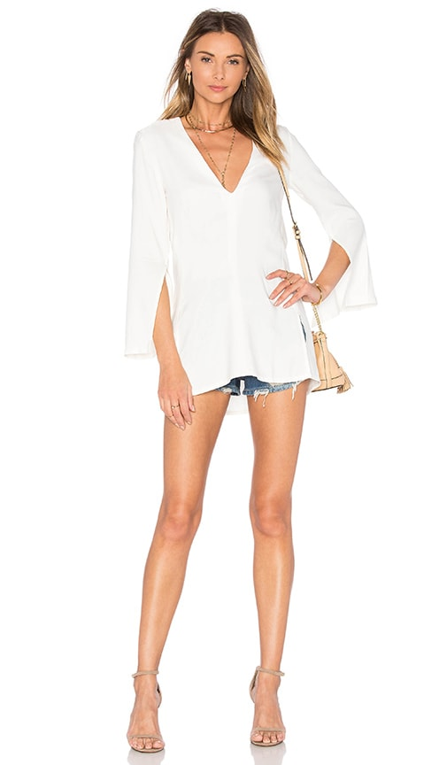 PFEIFFER Echo Split Tunic in White